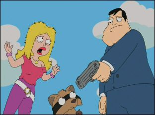 """Francine's Flashback"" ~ American Dad! season 1, episode 4 (2005)"