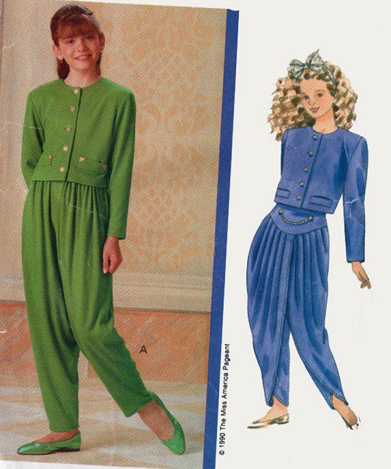 Burda Style Pattern 6316 Misses Harem Pant Harem Pants Pattern