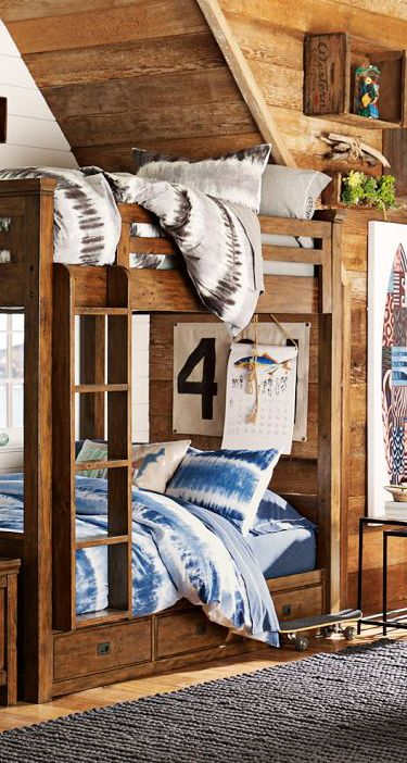 89 best images about teen boy bedrooms on pinterest - Beautiful bunk bed teens ...