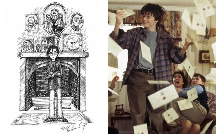 Ранние иллюстрации к Гарри Поттеру | GeekCity