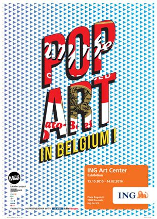 Pop Art in Belgium!
