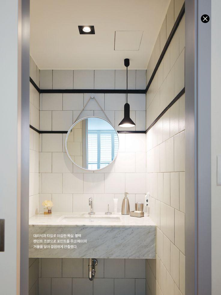 화장실 인테리어  집에 관한 아이디어  Pinterest  Toilet, Bathrooms ...