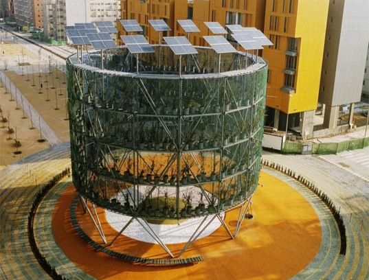 air tree proposed for madrid -- collects solar energy, cleans the air, via inhabitat