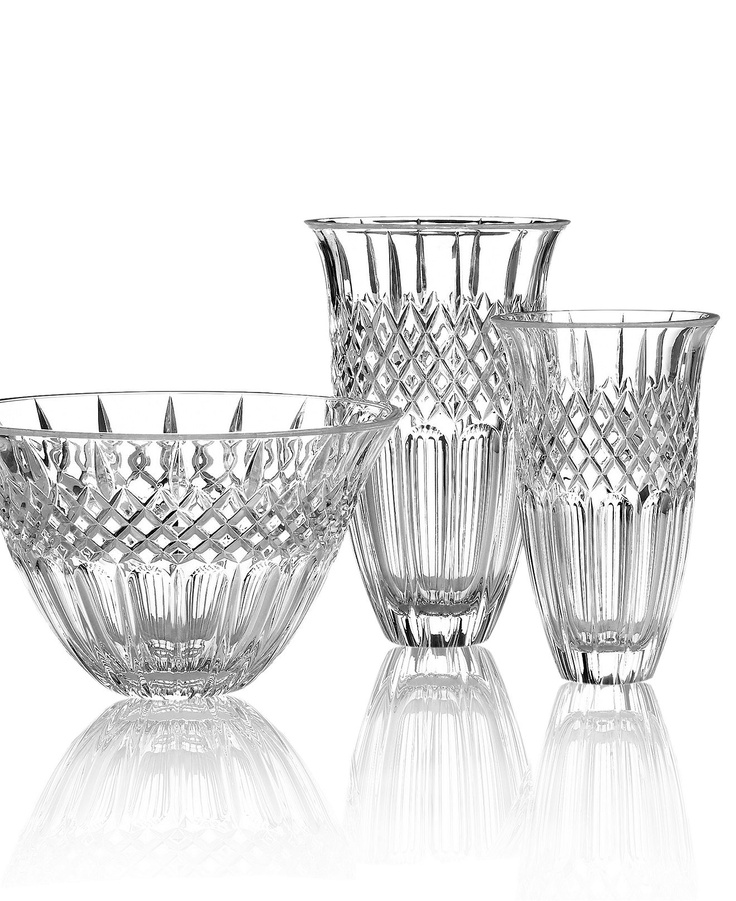 """Marquis by Waterford """"Shelton"""" Bowl & Vase Collection"""