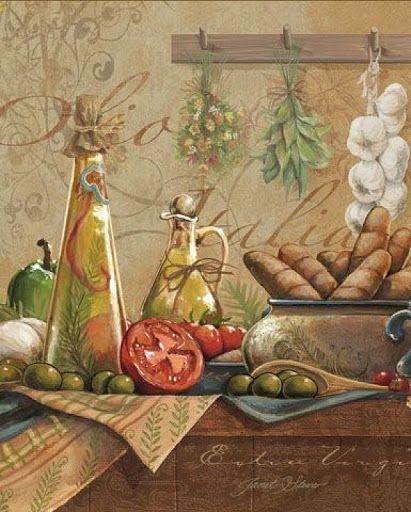 928 best images about ilustraciones en la cocina on - Laminas vintage para cocina ...
