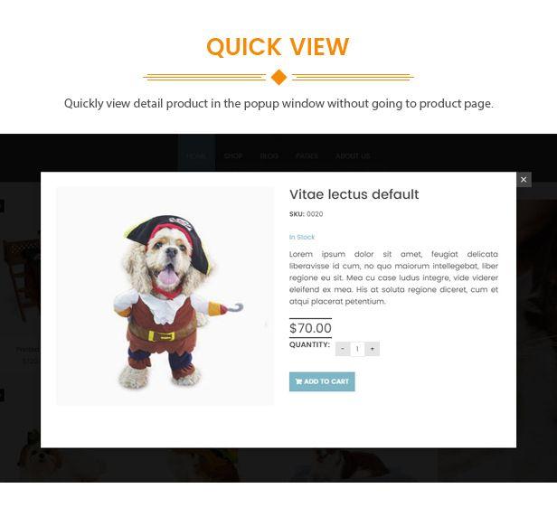 Peto Animal Care Woocommerce Wordpress Theme Woocommerce