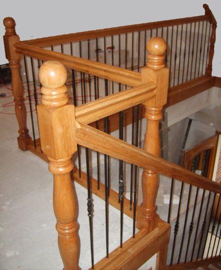 57 best images about escalier on pinterest cats aix en provence and bretagne - Changer rampe escalier en bois ...