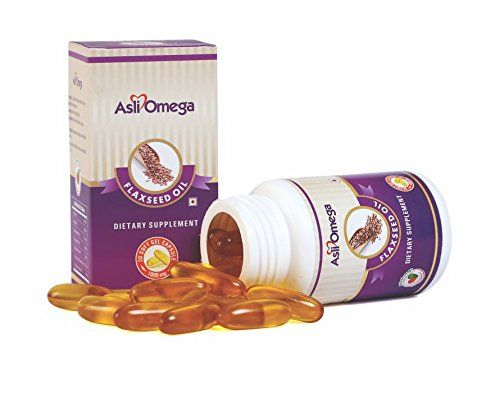 #Asli #Omega #Flax #Seed #Oil #Capsule 1000Mg 3+1