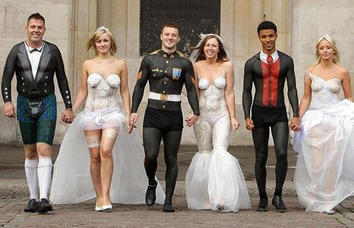 Body Paint Weddings Where Everyone Can See Everything