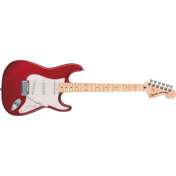 Squier Standard Stratocaster Electric Guitar in Candy Apple Red