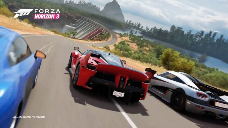 ForzaHorizon3 Trailer