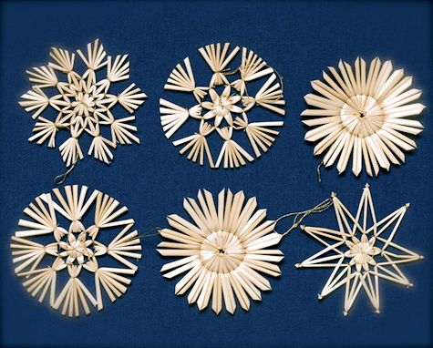 How to Make Straw Star Ornaments - Google 検索