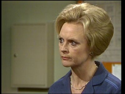 """Prison Governer """"Erica Davidson"""". Played by actress Patsy King"""