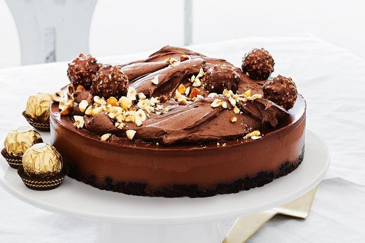 Every chocoholics dream cake. It really doesn't get much better.