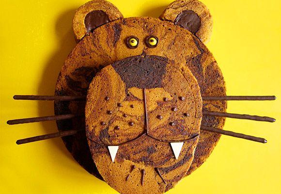 gâteau lion
