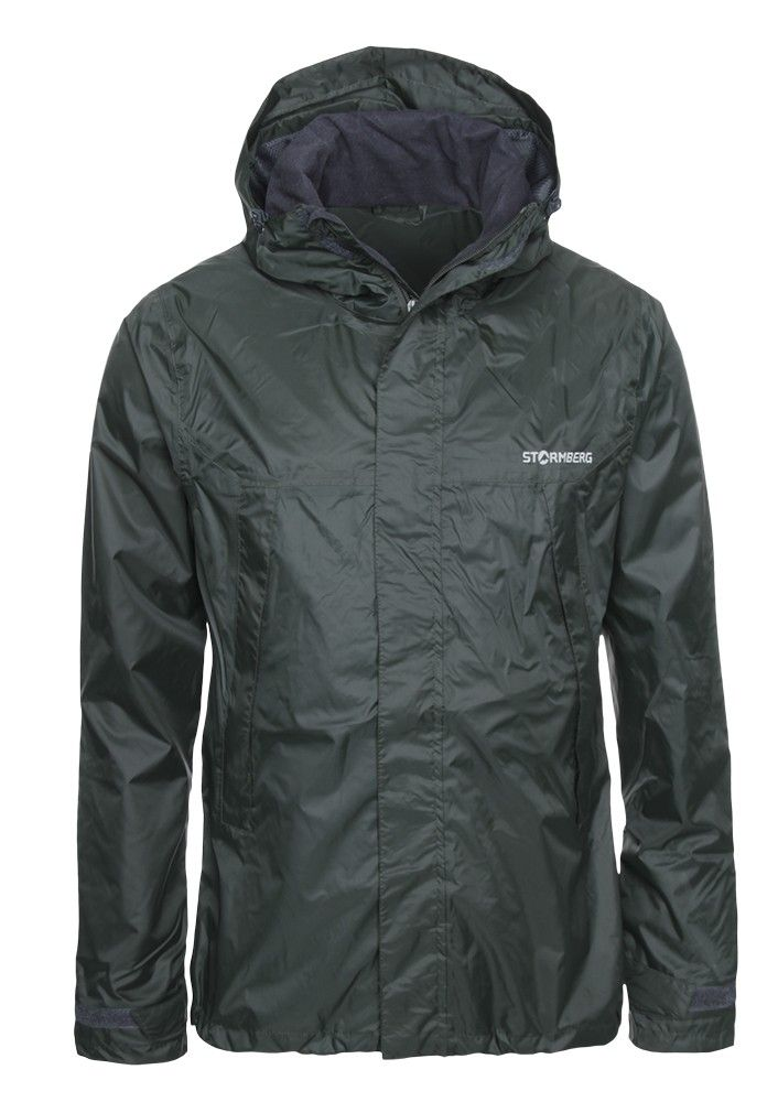 Hellemyr Rain Jacket - the perfect companion for your hikes, with taped seams it is wind and waterproof, whilst being moisture wicking.