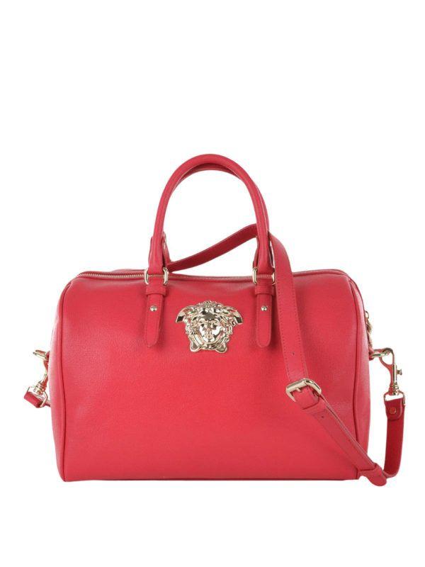 4fd58b35da32 Versace  bowling bags - Palazzo Medusa leather bowling bag ...