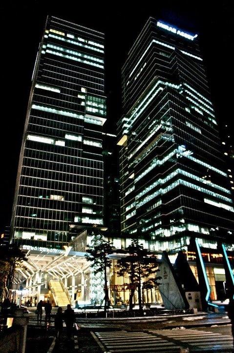 Seoul, Night, busy life : )