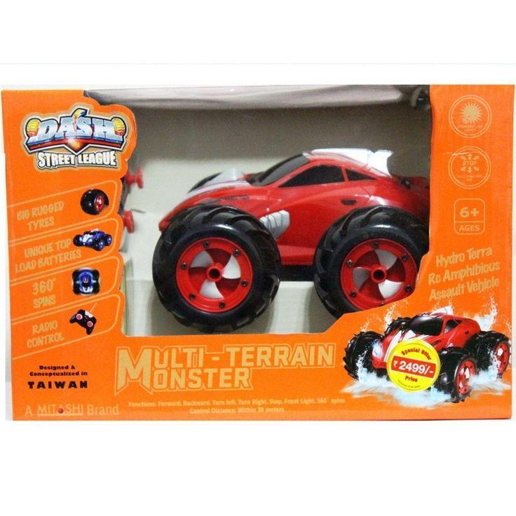 Buy #Dash RC Multi-Terrain #Monster Car DS031 Online in Kerala, Kochi, India at Best Price