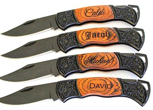 Gifts Infinity Personalized Laser Engraved Pocket Knife Rosewood Handle Groomsmen Fathers day Gift free *** Click image for more details.Note:It is affiliate link to Amazon.