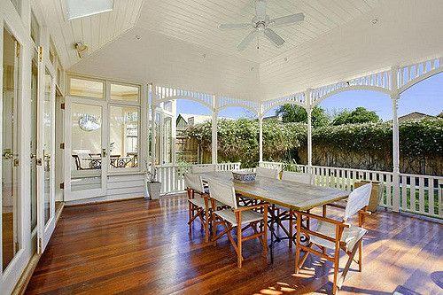 Gorgeous Verandah | What a beautiful verandah all in white. | littlemissairgap | Flickr