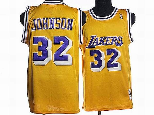 7df5c4e661d ... reduced mitchell and ness lakers 32 magic johnson stitched yellow  throwback nba jersey e8b87 11bc5
