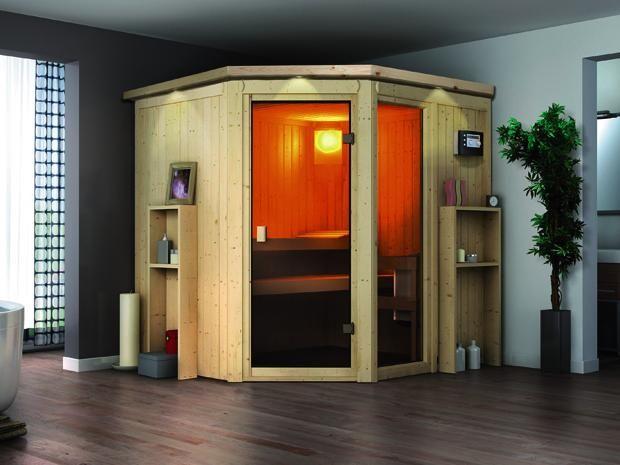 Mit der Systemsauna Ora 1 von Karibu schaffen Sie eine Wohlfühloase in Ihren eigenen vier Wänden.