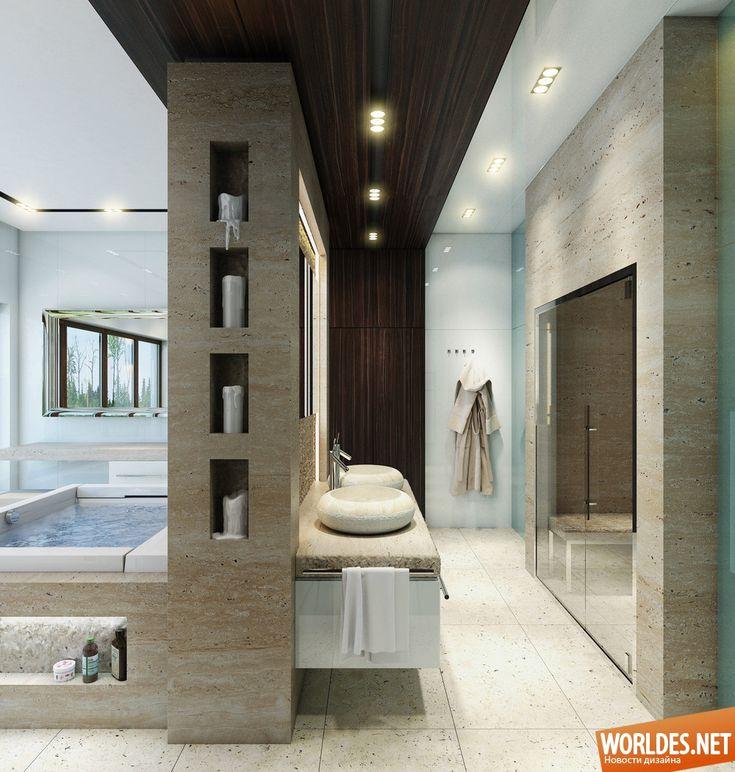 Роскошные ванные комнаты фото 20