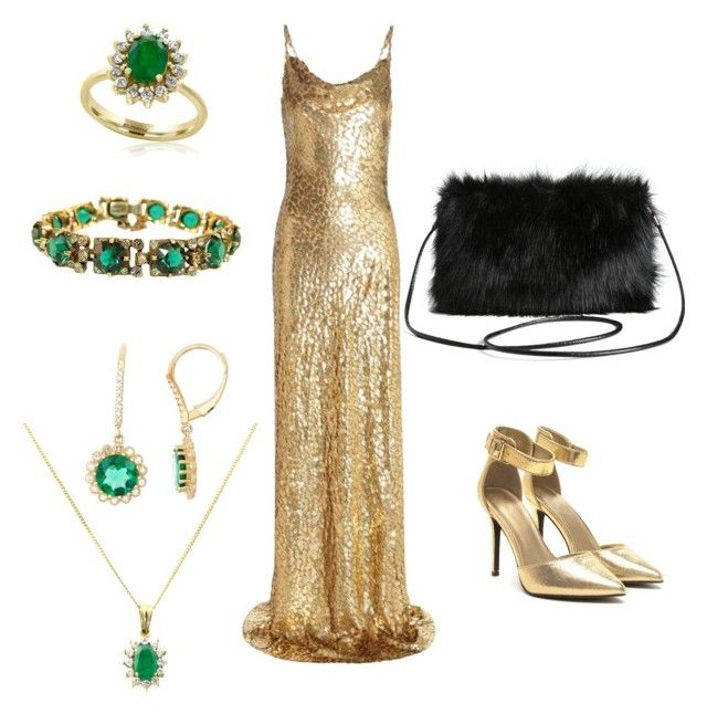 Emerald Beauty by elf-islm on Polyvore featuring Michael Kors, Torrid, Turner & Leveridge and Effy Jewelry