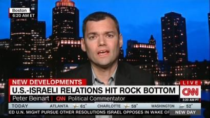 CNN's Beinart Calls It 'Racist' to Warn Jews Would Be Killed in Palestinian Arab State