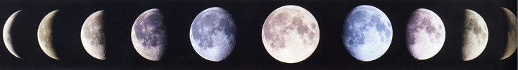 Maanstanden / Moon phases.