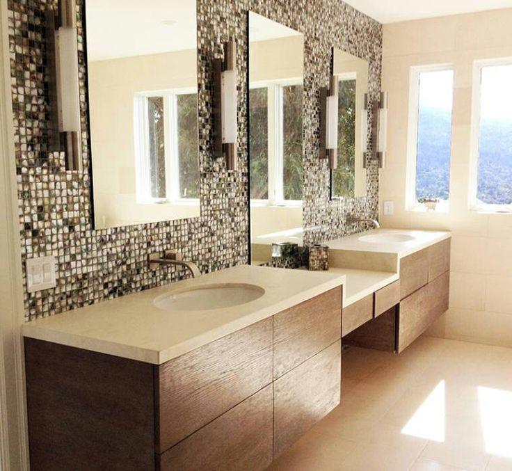 Mosaico. Doppio lavabo