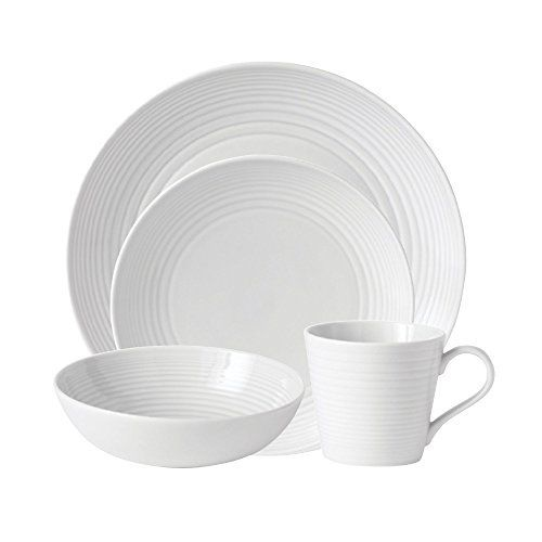 World-renowned chef Gordon Ramsay exemplifies performance and presentation; epitomized by his Maze Dinnerware Collection. This stylish tableware is contemporary and stylish, yet durable enough for everyday use. This 4-Piece Set includes a Dinner Plate, Salad Plate, All Purpose Bowl and Mug;... - http://kitchen-dining.bestselleroutlet.net/product-review-for-gordon-ramsay-by-royal-doulton-maze-white-4-piece-set/