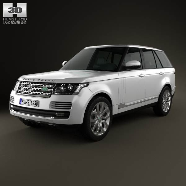 Land Rover Range Rover (L405) 2014 3d Model From Humster3d