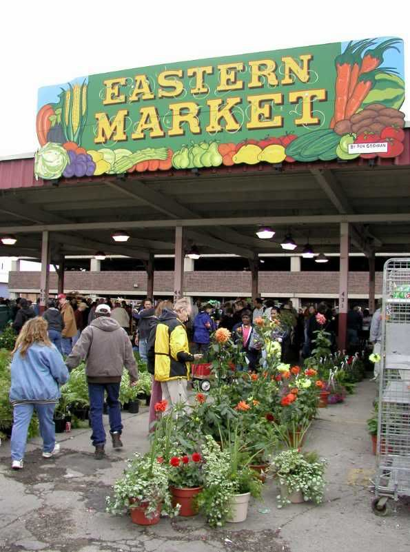 detroit eastern market   Eastern Market District is home to the largest open air farmers market ...