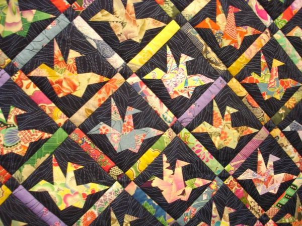 Paper Cranes Quilt From The Quilting Board Possibly