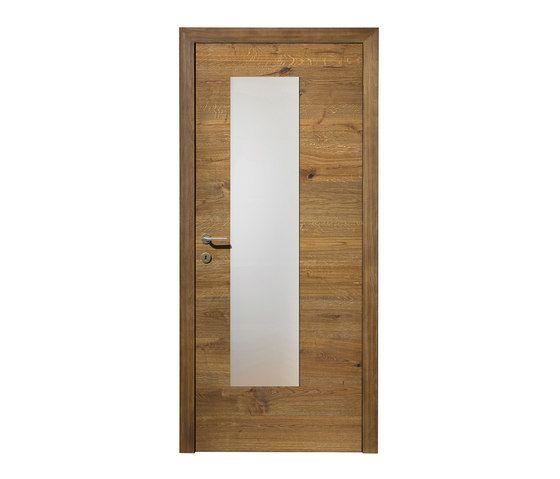 DOORs Oak Lapis glass section by Admonter   Internal doors