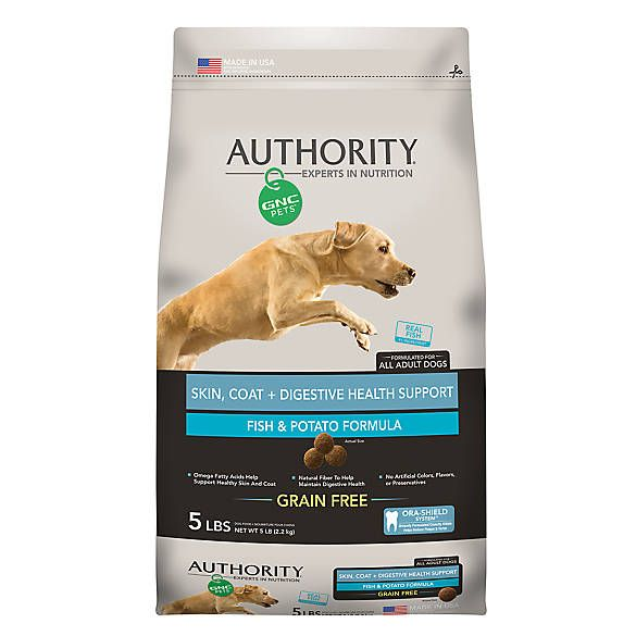 Authority Gnc Pets Skin Coat Digestive Health Support Adult