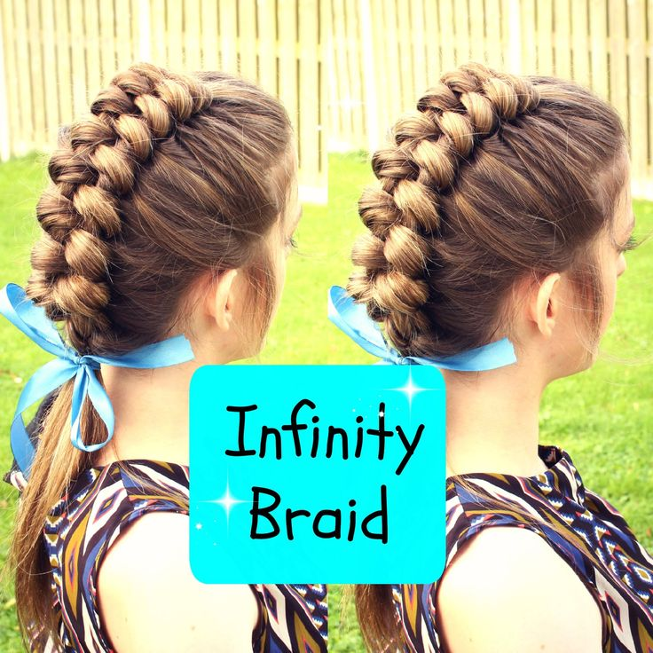 Hi Everyone! Today's tutorial is how to do a Dutch Infinity braid on yourself . I love how intricate yet how simple this braid is. If you like this tutorial ...