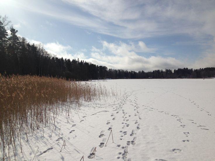 Lake Perälä, Veikkola, Finland