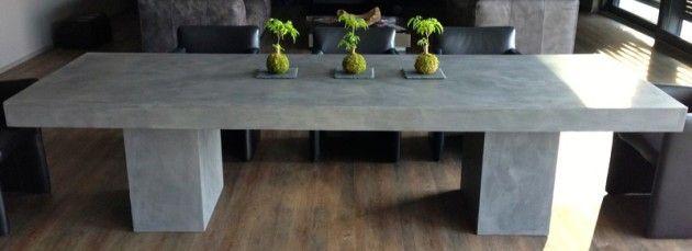 beton cire tisch rob pinterest beton cire tisch und entwurf. Black Bedroom Furniture Sets. Home Design Ideas