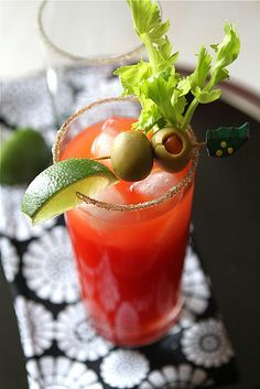 While in Toronto you should try a Caesar Cocktail. It's similar to a Bloody Mary, but made with Clamato Juice (and other things) instead of Tomato Juice. It's quite tasty.