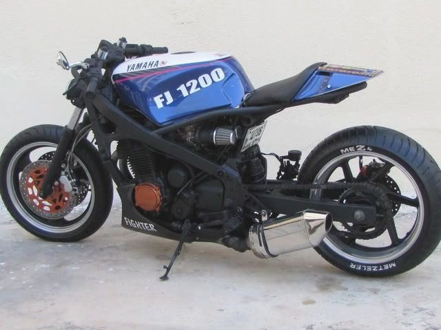 Yamaha Fj1200 Cafe Racer Motorview