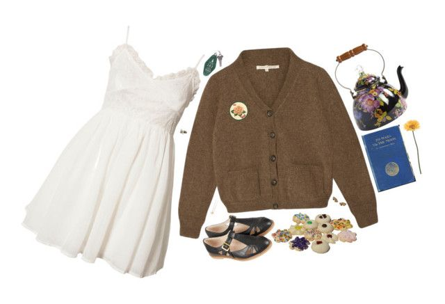 """""""Khadija"""" by bansheebeat ❤ liked on Polyvore featuring MacKenzie-Childs, Jeane Blush, Topshop, Accessorize and Gerber"""