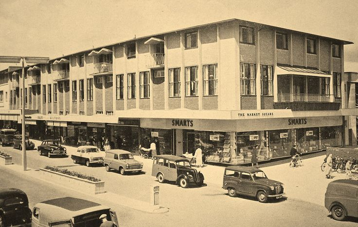 CORBY TOWN CENTRE 1961
