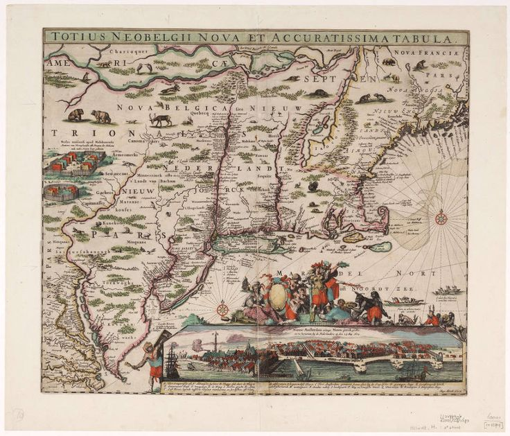 Totius Neobelgii nova et accuratissima tabula | Hugo Allardt | 1674 | VU University Amsterdam Library | CC0