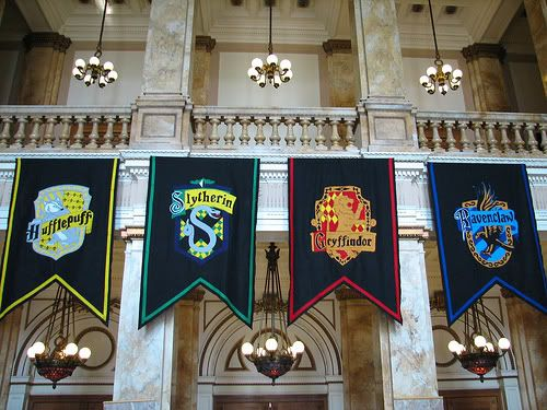 house banners photo hufflepuff slythrin gryffindor and ravenclaw this photo was uploaded by. Black Bedroom Furniture Sets. Home Design Ideas
