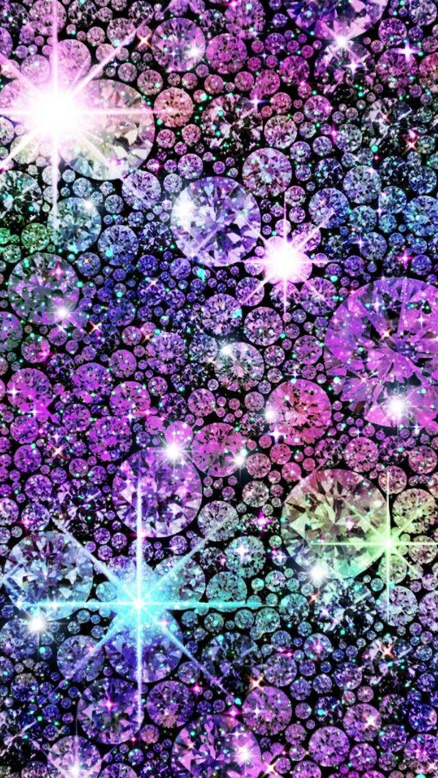 Rainbow Glitter Gems Made By Me Shine Glitter Jewels Diamonds