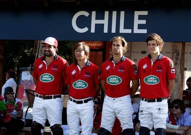 Campeón Mundial de polo, equipo de Chile, Final el 2 Abril 2015, en Santiago de Chile.  Equipo integrado por: Felipe Vercellino, Ignacio Vial, José Pereira y Mario Silva.