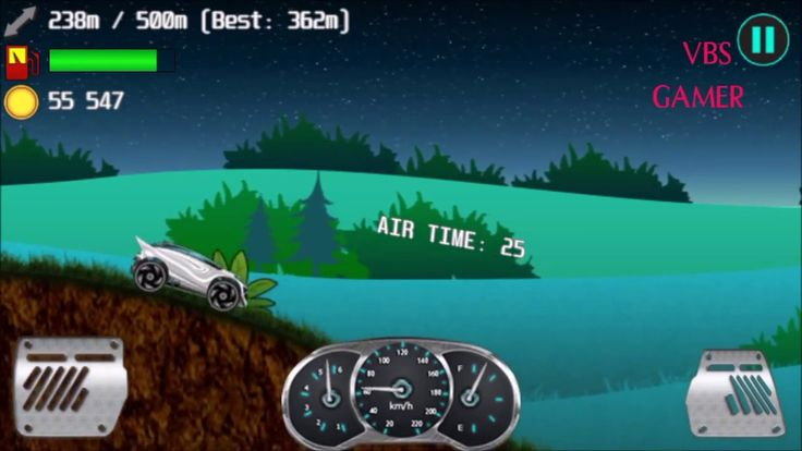 Alien Planet Hill Racing Babies Android Gameplay Night Bike 4